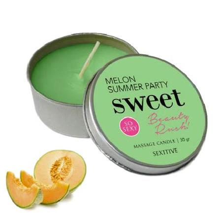 Vela Massage Candle Sweet Beauty Rush Melon